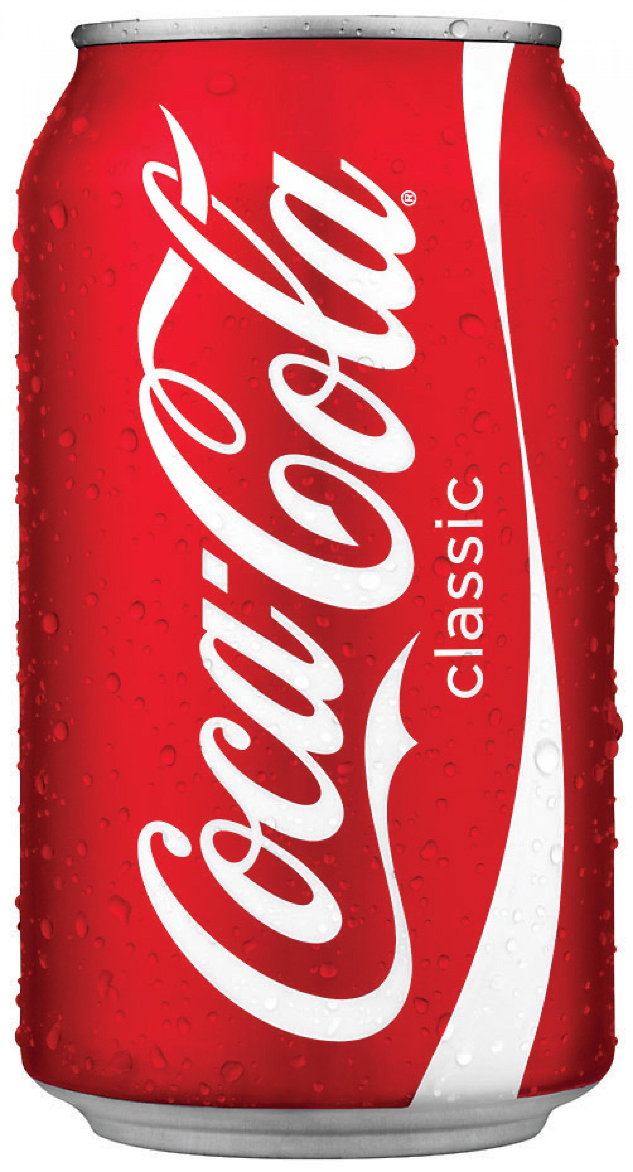 dåse coca cola