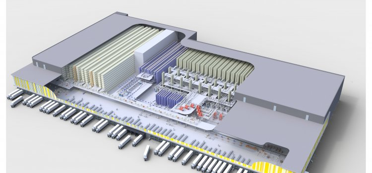 General contractor WITRON realizes a new dry goods distribution center for Dutch food retailer ...